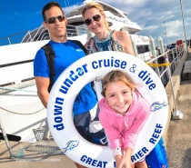 "Adventure awaits when you cruise from Cairns onboard the fastest, award-winning luxury vessel ""EVOLUTION"" for the best value tour to the Outer Great Barrier Reef"