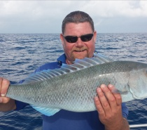 FISH TALES CHARTERS GRUNTER ESTUARY FISHING