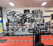 Mural at Survivor Fitness and Kickboxing