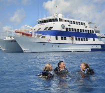 OceanQuest provides a spacious and comfortable 'home away from home' on The Great Barrier Reef