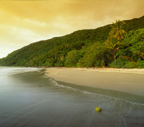 Cape Tribulation beach sunset