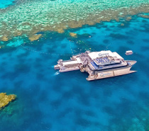 Situated on the very edge of the Great Barrier Reef, Agincourt Reef provides the perfect spot for passengers to snorkel, dive, and view the spectacular coral formations and exotic marine life from the semi-submersible vessels.