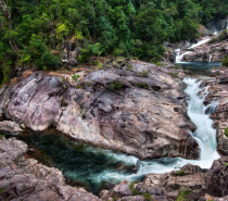 45 minute drive from Cairns is magnificent Behana Gorge.  Soak in the beautiful sights while learning abseiling techniques from experienced professional guides.