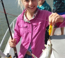 FISHING WITH THE KIDS