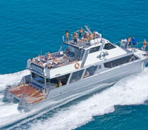 Travel with style and speed on our comfortable 20 metre motor catamaran.