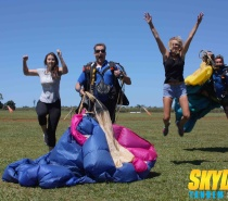 Our skydive 1/2 day trips run twice daily departing 8am and 11am daily.