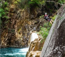 We'll walk, swim, zip line and abseil over rocky gorges and through tropical rainforest.