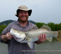 Barramundi fishing Cairns