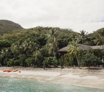 Fitzroy Island offers hiking trails and guided walks as well as numerous water sports options available.
