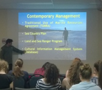 Aboriginal Ranger Discussing Traditional & Contemporary Protected Area Management