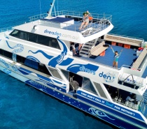 our vessel ReefQuest boasts 3 large sun decks, 2 air-conditioned indoor saloons, a spacious dive deck, and a sunken platform