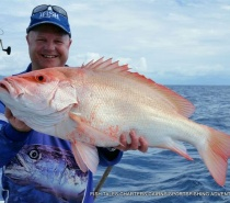BLUEWATER REEF FISHING FOR LARGE MOUTH NANNYGAI