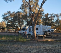 Camped at Wallgett NSW