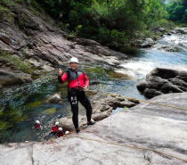 CANYONING TOUR OF BEHANA GORGE WATERFALLS – CAIRNS