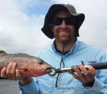 FISH TALES CHARTERS ESTUARY FISHING FOR MANGROVE JACK.JPG