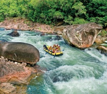 White Water Rafting is the one Cairns tour you MUST do.