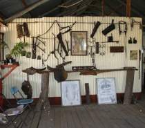 Memorabilia at Lappa Junction