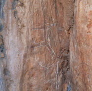 Aboriginal Rock Art Site Chillage