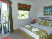 2 BR Beachfront - Main BR with balcony access