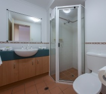 Apartment  Bathroom (walk in shower)