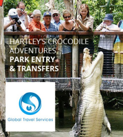 Hartley's Crocodile Adventures with Transfers
