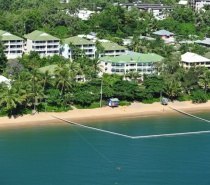 Aerial View- On The Beach Holiday Apartments