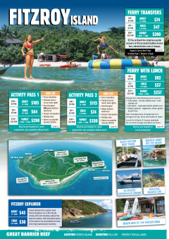 how to go to fitzroy island from cairns