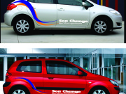 The Sea Change Cars - available for your use