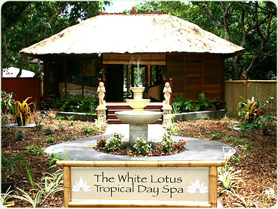 White Lotus Tropical Day Spa Cairns Tourism Town