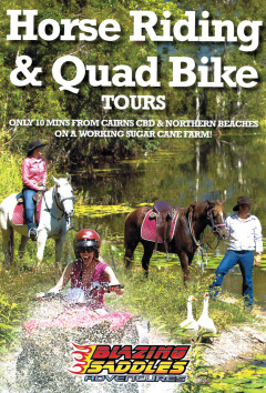 Horse Riding and ATV  Package Tours with Blazing Saddles
