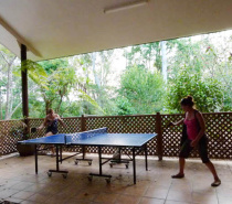 The Lodge New!  for your enjoyment - table tennis