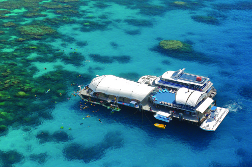 DAY FIVE: Outer Barrier Reef Cruise *