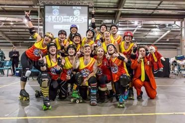 REEF CITY ROLLERGIRLS