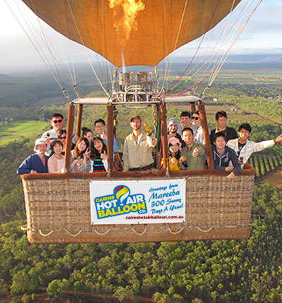 About CAIRNS HOT AIR BALLOON CO.