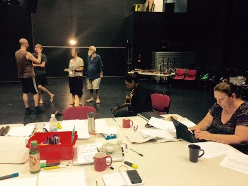 Inside our Theatre Factory - Creative Development for 'Bones' by Madonna Davies