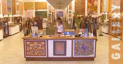 Aboriginal Rainforest & Central Australian Aboriginal Art