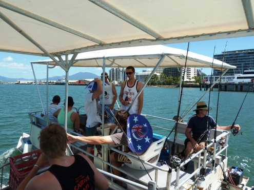 Relaxed cruising and fishing on The Trinity Inlet in Cairns