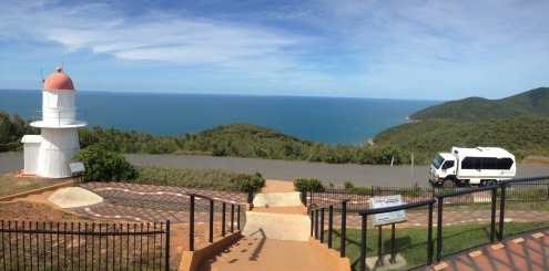 Spectacular views from Grassy Hill - Cooktown