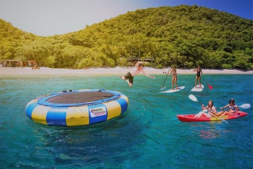 FITZROY ISLAND Half Day or Full Day Reef Cruise On The Great Barrier Reef