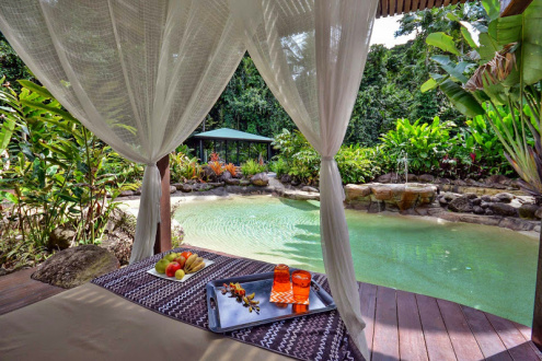Blue Lagoon Villa Luxury Rainforest Accommodation