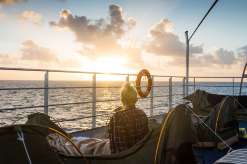 OVERNIGHT GREAT BARRIER REEF SLEEP