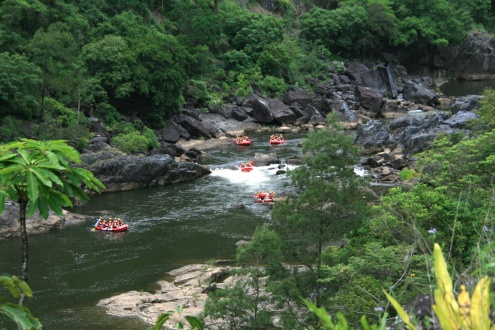 Half Day Rafting Barron River