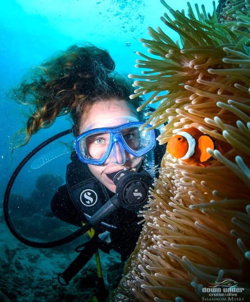 Scuba Diving on Evolution Great Barrier Reef Tour