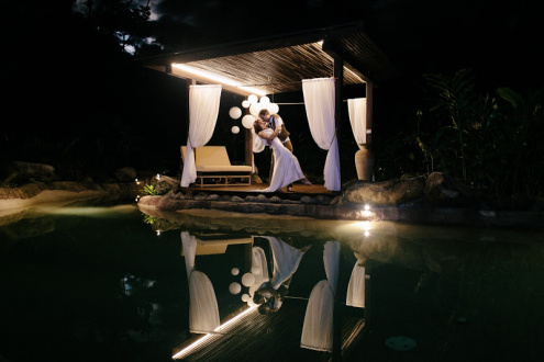 A Magical Rainforest Wedding Venue