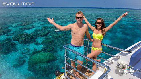 Evolution Great Barrier Reef tour from Cairns