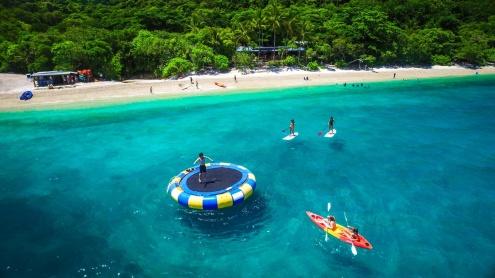 Fitzroy Island Beach Hut Activity & Hire Pricing