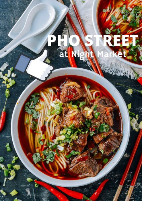 Pho Street Restaurant at Night Market