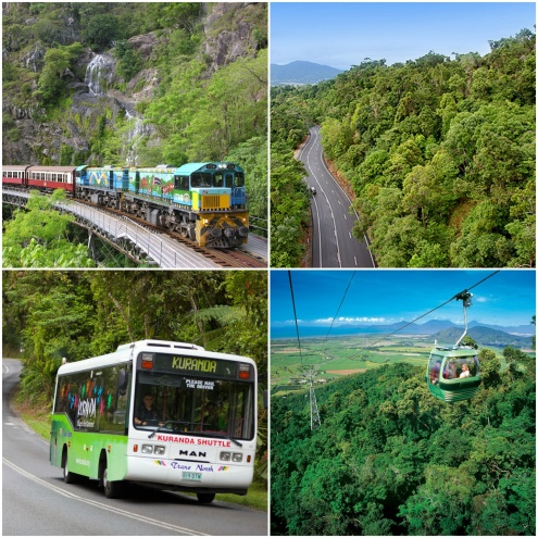 THE KURANDA TRAIN AND SKYRAIL TOUR