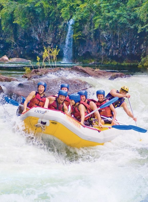 Tully White Water Rafting with Raging Thunder