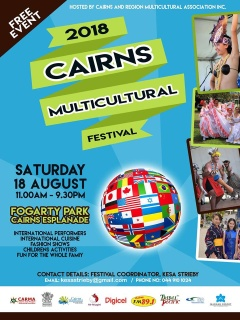 CARMA aims to bring communities to work together,share,promote and embrace the diverse of Cairns an region.